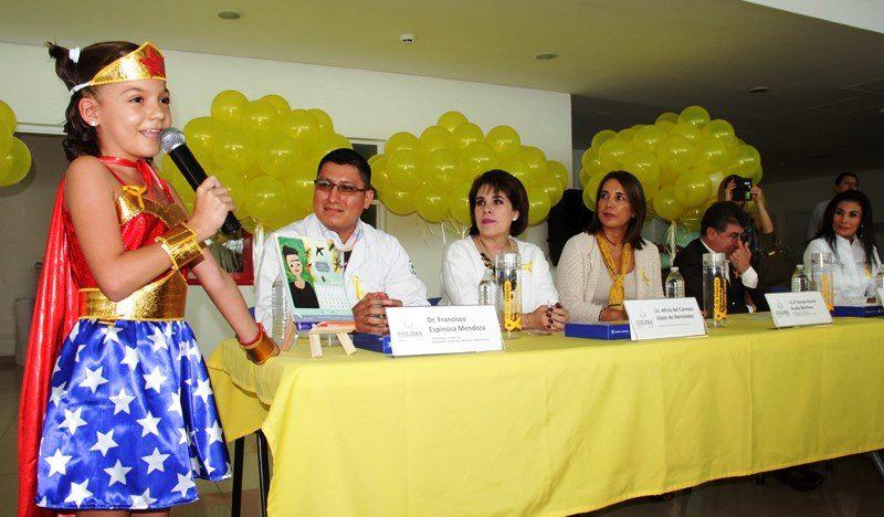 U de Colima se suma a conmemoración de la lucha contra el Cáncer Infantil