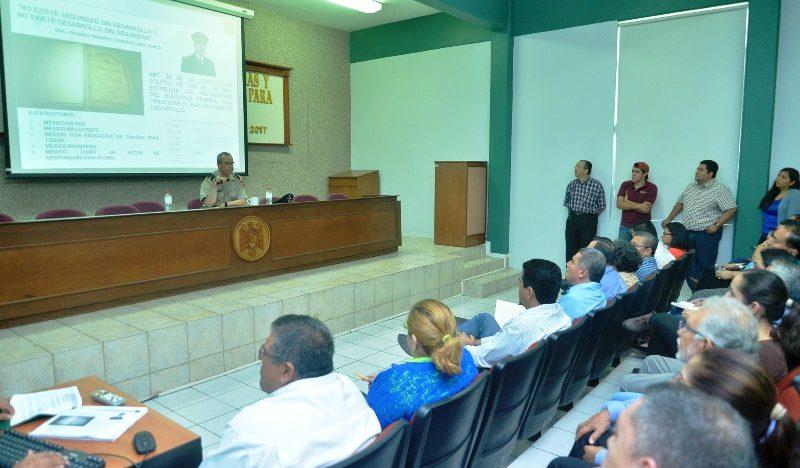 Ciclo de conferencias sobre participación del Ejército en el desarrollo nacional