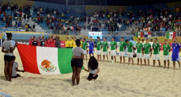 Mañana inicia participación del 'Tri' de playa en Mundial