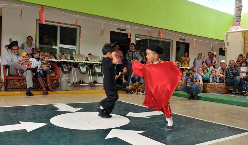 Fomentan tradiciones culturales  del estado en la Estancia Infantil