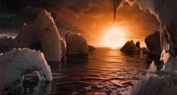 Astrónomos hallan siete planetas de tamaño similar a la Tierra donde la vida podría ser posible