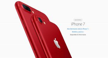 Apple baja precio a ciertos iPad, lanza iPhone rojo