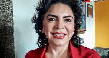 Ivonne Ortega visita Colima en gira como aspirante a la presidencia del país