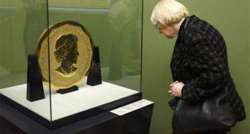 Roban una moneda de 110 kilos de oro en Alemania