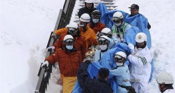 Avalancha en Japón mata a 7 estudiantes y su instructor