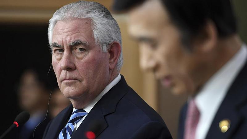 Tillerson: EEUU sopesa ataque preventivo contra Norcorea