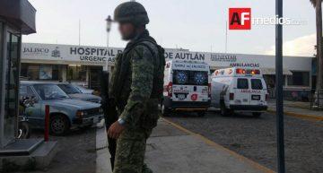 Militares y delincuentes se enfrentaron a balazos en Autlán, Jalisco
