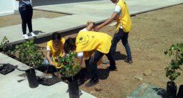 Reforestan alumnos el Bachillerato 33