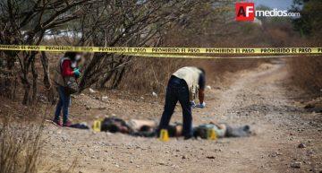 Dejan cuatro ejecutados en la entrada de Apango, Guerrero