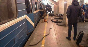 Explosión en San Petersburgo deja al menos 9 muertos y varios heridos