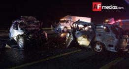 10 muertos tras choque en carretera Aguascalientes – Encarnación Díaz
