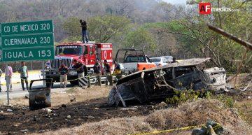 Accidente en la Autopista del Sol deja saldo de 4 muertos y 5 heridos