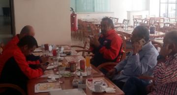 Dialogan en Colima, directivo y jugadores del Atlante sobre el adeudo
