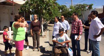 Ayuntamiento y Gobierno del estado impulsan accesibilidad en el barrio V