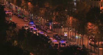 En Campos Elíseos de París se reporta tiroteo