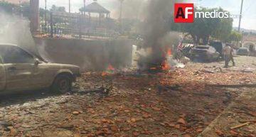 Explosión de camioneta en Chiquilistlán, Jalisco deja tres muertos y un herido