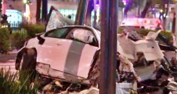 Trasladan al Reclusorio Sur a conductor que chocó en Paseo Reforma