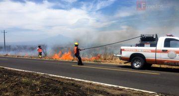 PC Estatal cuenta con equipo contra incendios de ataque rápido