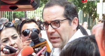 Gobernador confía en que Congreso hará reforma electoral antes de junio