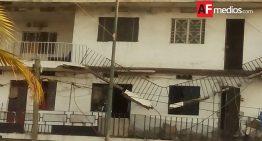 Colapsa balcón de edificio en Manzanillo; reportan lesionados