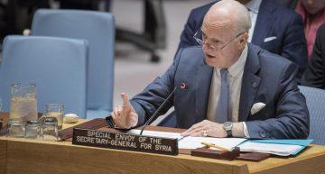 EU y Rusia comparten responsabilidad para la paz en Siria: ONU