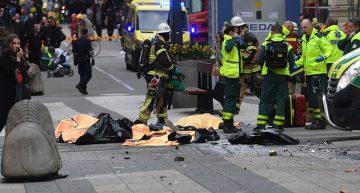Al menos dos muertos tras 'atentado' en Estocolmo