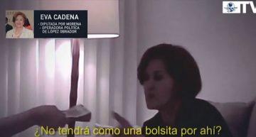 FEPADE cita a declarar a Eva Cadena Sandoval por bolsas de dinero