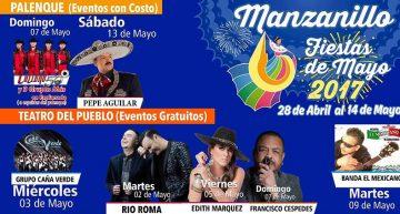 Manzanillo presentará espectacular elenco en las fiestas de Mayo