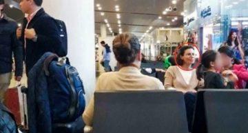 Esposa de Duarte viaja a Londres