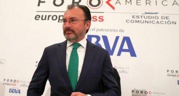 México está listo para renegociar TLCAN: Videgaray