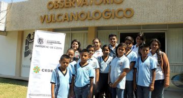 Organiza CEDEFU visitas guiadas en la UdeC a estudiantes de primarias