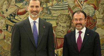 Videgaray se reúne con Rey Felipe VI
