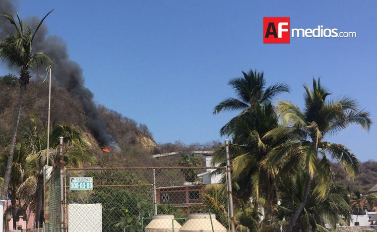 Incendio en Península de Santiago