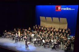 Orquesta de la Sedena se presentó enTeatro Universitario
