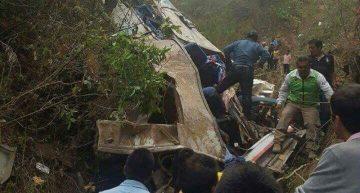 Accidente en Chiapas deja 17 muertos y 30 lesionados