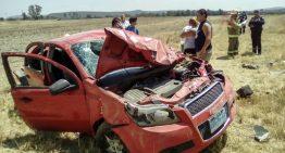 Accidente en carretera de los altos de Jalisco deja saldo de 8 lesionados