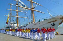 Buque Escuela de la Armada de Colombia arribará a Manzanillo