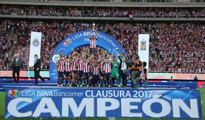 Chivas logra su doceavo título del futbol mexicano
