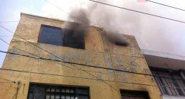 Dos bebés mueren en incendio de vivienda en Guadalajara