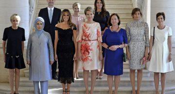 Primer Caballero entre Primeras Damas de la OTAN