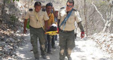 PC Jalisco auxilia a peregrino en Talpa