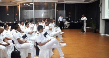 Discentes de la Maestría en Administración Naval visitan al Puerto de Manzanillo