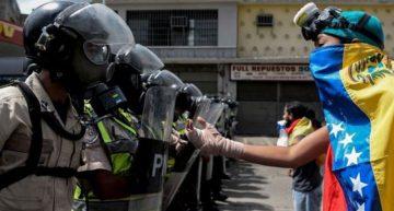 Manifestaciones en Venezuela tras anuncio de Asamblea Constituyente