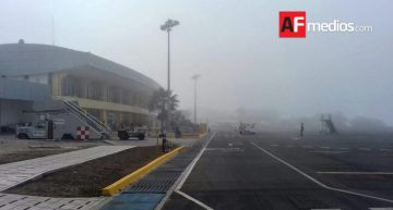 Aeropuerto de Manzanillo opera sin problemas ante paso de Dora
