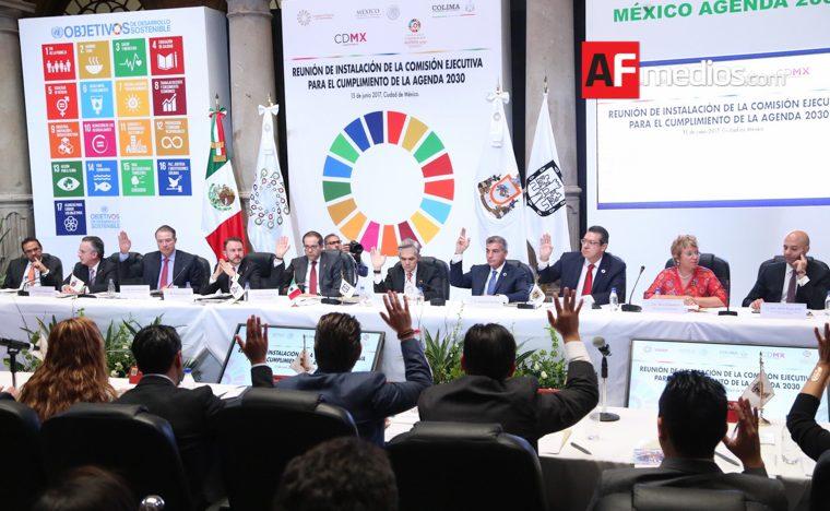 Participa Gali en instalación de Comisión Ejecutiva de Agenda 2030