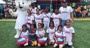 Colima es segundo lugar de Futbolito Bimbo femenil