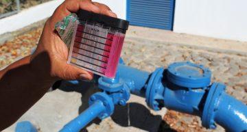 Sin riesgo de contaminación en Punta de Agua por derrame de mineral