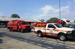 Tras 40 minutos, Bomberos y PC apagan incendio en Colima