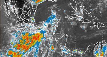 Zona de baja presión en costas de Oaxaca con probabilidad de desarrollo ciclónico