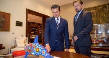 Leonardo DiCaprio se reúne con Peña Nieto